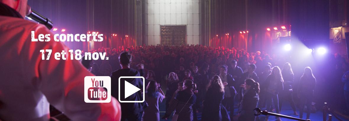 Vidéo du concert sur YouTube